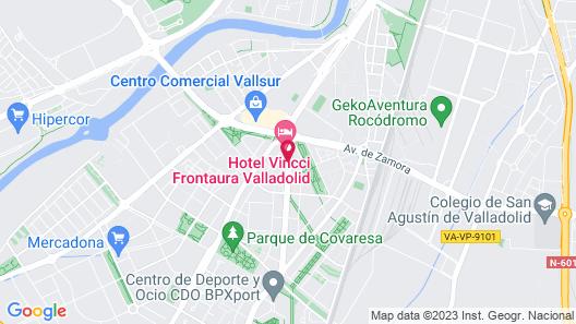 Vincci Frontaura Map