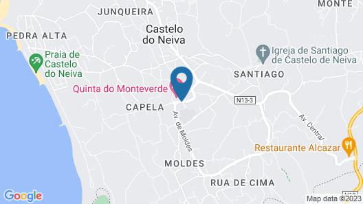 Quinta Do Monteverde Map