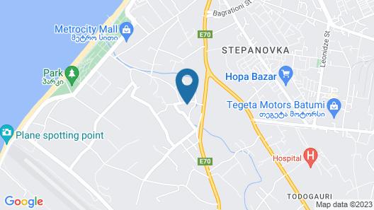 Nakashidzes Apartments Map