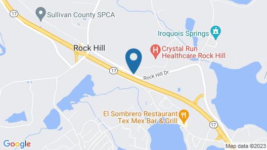 Ramada by Wyndham Rock Hill at Sullivan Center Map