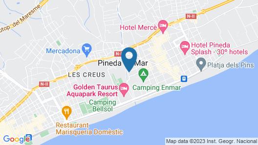 Hotel Paradis Park Map