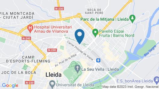 Hotel Nadal Map
