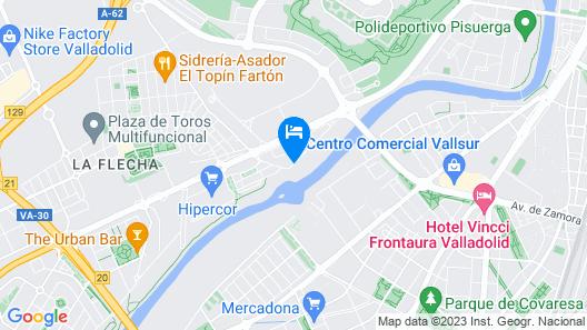 AC Hotel Palacio de Santa Ana by Marriott Map