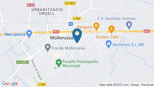 Hostal Cal Jaume Map