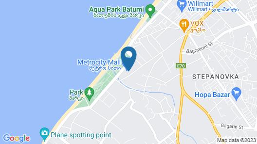 Euphoria Apartments & Residence Batumi Map
