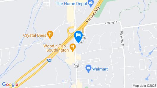 Days Inn by Wyndham Southington Map