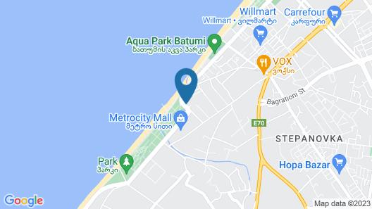 Hotel 36 - ORBI Beach Tower Batumi 36th floor Map