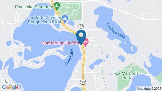 The Blue Heron Inn Map