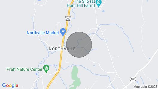 Mabels Hollow Farm, En suite bedroom farm stay,   Map