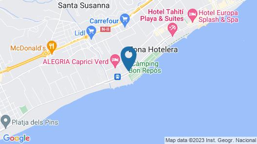 AQUA Hotel Onabrava & Spa Map