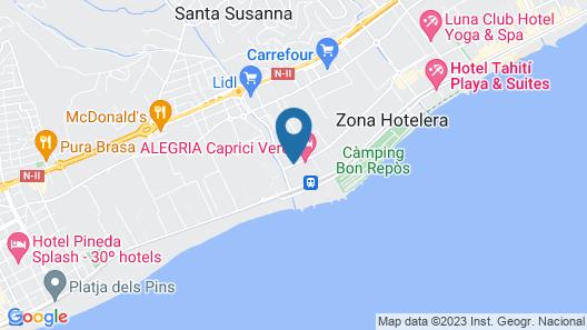 Hotel Mercury Map