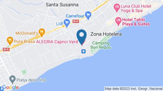ALEGRIA Caprici Verd Map