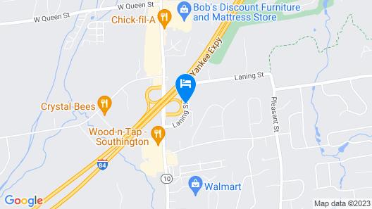 Holiday Inn Express Southington Map
