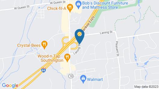 Holiday Inn Express Southington, an IHG Hotel Map