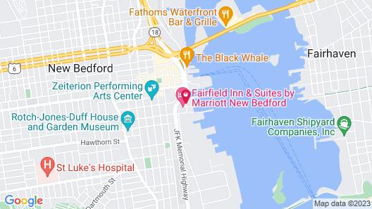 Fairfield Inn & Suites by Marriott New Bedford Map