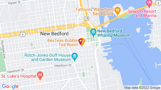 New Bedford Harbor Hotel, Ascend Hotel Collection Map