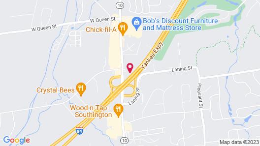 Motel 6 Southington, CT - Hartford Map