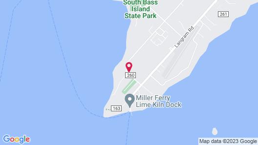 Island Club Rentals Map