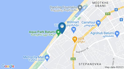 Orbi Luxury Apartments Map