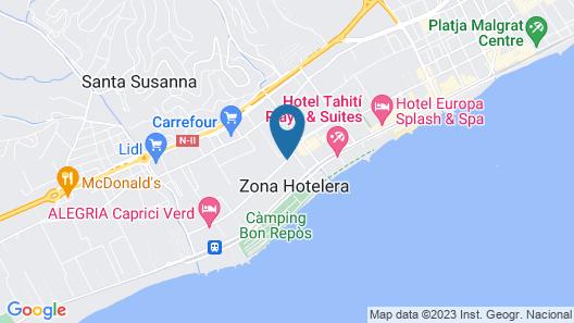 Hotel Florida Park Map