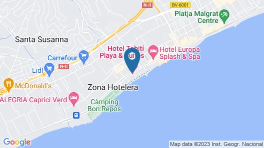 Hotel Tahiti Playa Map