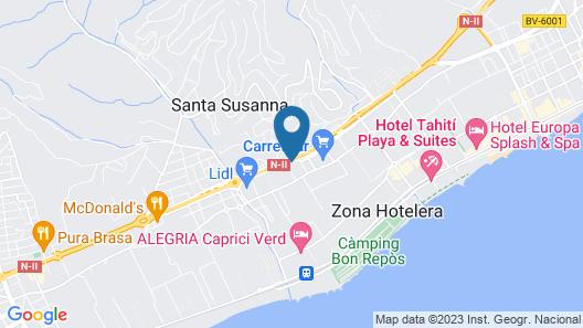 Santa Susana Resort Map