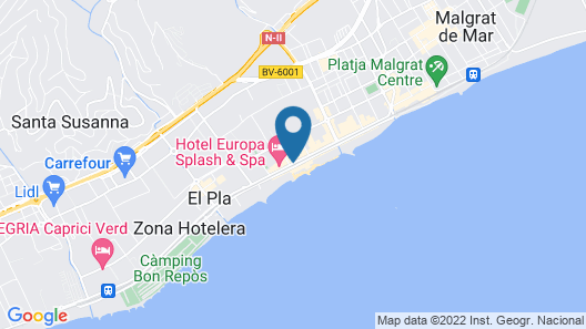 Hotel Tropic Park Map