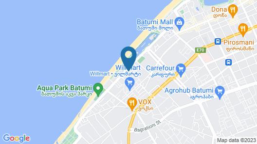 Habiby Orbi Sea Towers Map