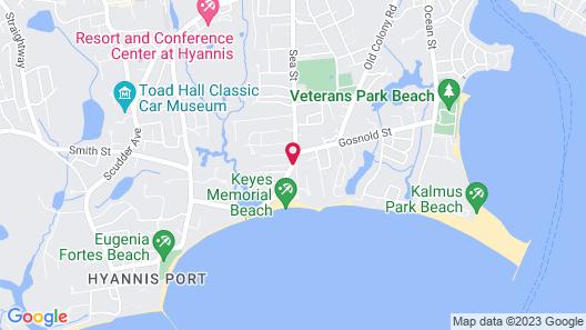 Sea Breeze Inn Map