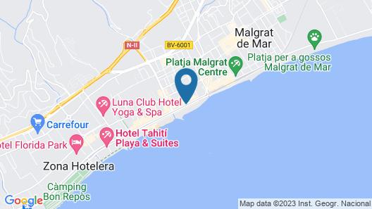 ALEGRIA Maripins Map