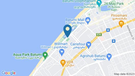 Grand City Apart-Hotel Batumi Map