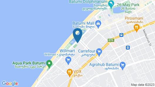 ORBI City by ORBI GROUP Map