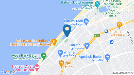 VIP40 Hotel Map