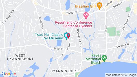 Simmons Homestead Inn Map