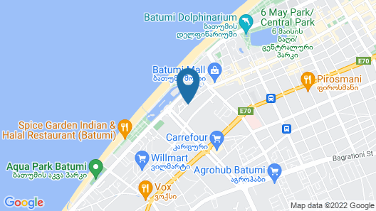 Best Western Premier Batumi Map