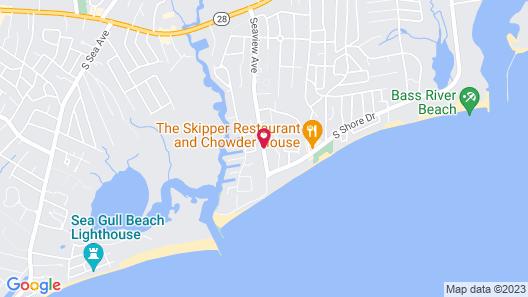 Ocean Breeze Motel Map