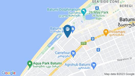 Hotel Penthouse Batumi Map