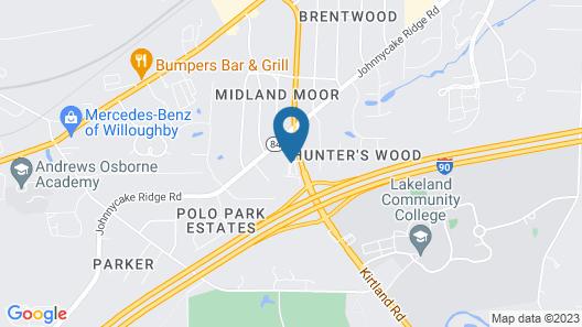 Mentor Home Inn Map
