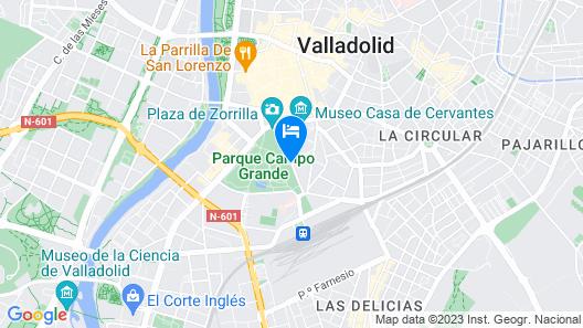 Melia Recoletos Map