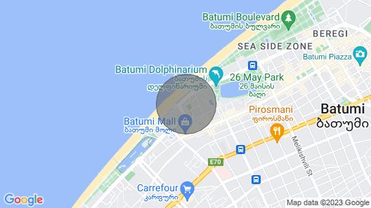Seaside Luxury Apartment Map