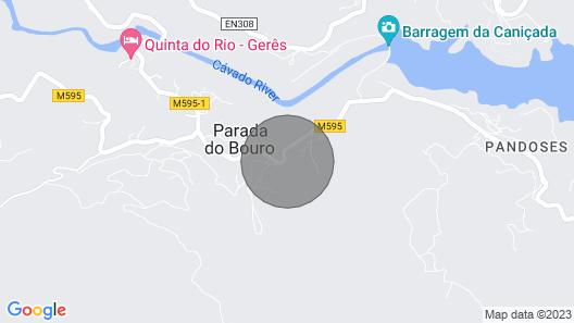Casa Soral Country House - Parada de Bouro - Vieira do Minho Map
