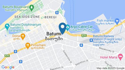 Mardi Plaza Hotel Map