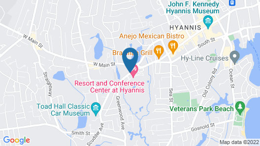 Resort & Conference Center at Hyannis Map