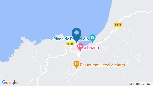 U Livanti Map