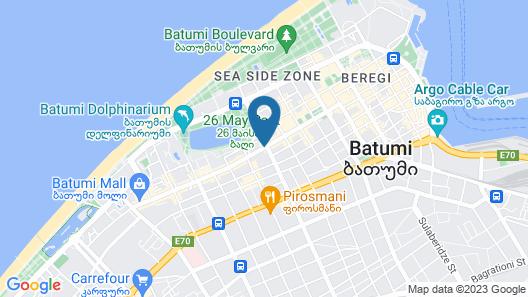 Lux Batumi Map