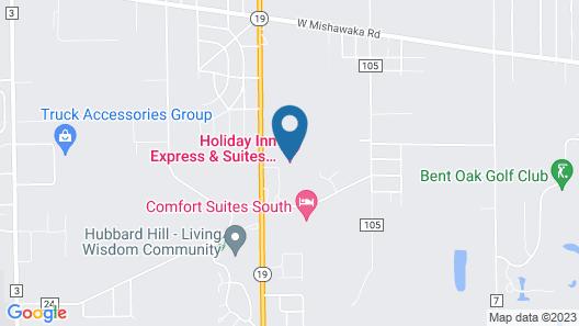 Holiday Inn Express & Suites Elkhart, an IHG Hotel Map