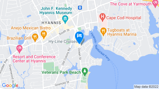 Hyannis Harbor Hotel Map