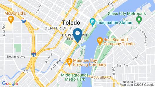 Park Inn by Radisson Hotel Toledo, OH Map