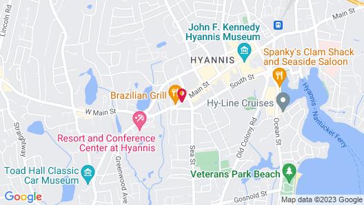 Hyannis Plaza Hotel Map