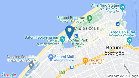 Hilton Batumi Map